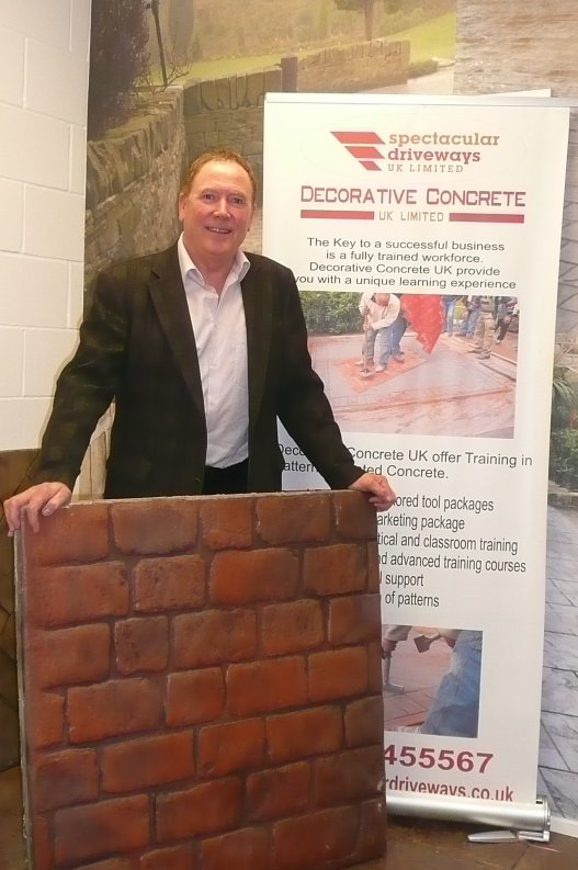 Decorative Concrete founder to address industry show